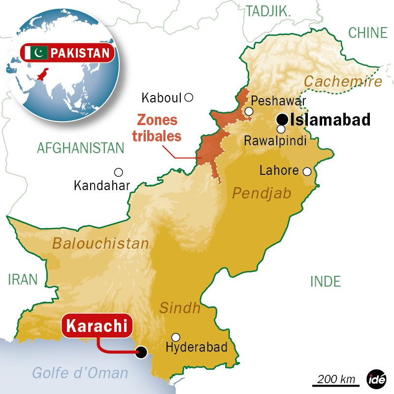 carte karachi - Image