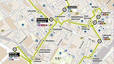 un nouveau bus lectrique dans le 15 me arrondissement de paris. Black Bedroom Furniture Sets. Home Design Ideas