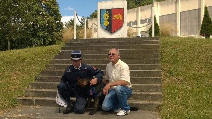 Retraite bien m rit e pour brix le chien de la - Nouvelle grille indiciaire gendarmerie ...