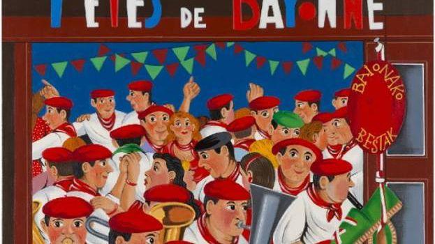 Les bayonnais ont vot pour l 39 affiche des f tes de bayonne for Ecole de dessin bayonne