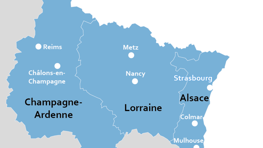 region alsace champagne ardenne lorraine acal le