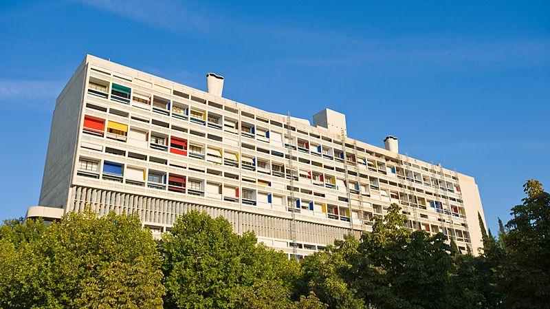 La cit radieuse de marseille une uvre sign e le corbusier - La cite radieuse le corbusier ...