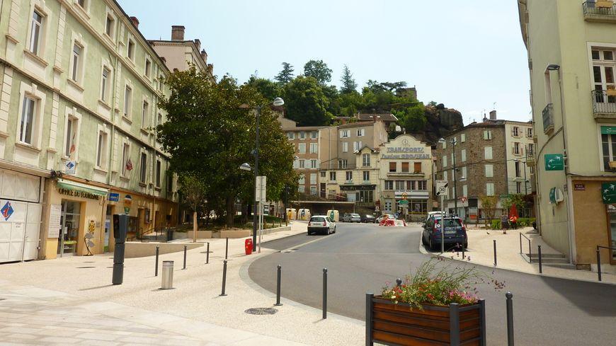 Plan Du Centre Ville D Annonay