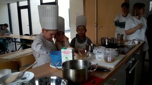 des cours de cuisine pour les enfants malades de clocheville de tours