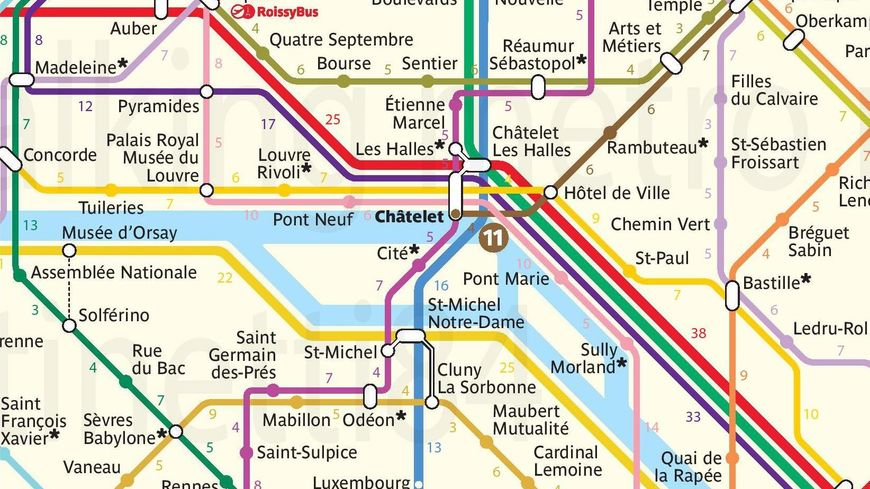Paris : un internaute crée un plan de métro... pour ...