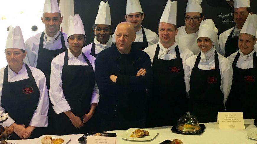 Des cours de cuisine avec thierry marx pour retrouver un - Ecole de cuisine thierry marx ...
