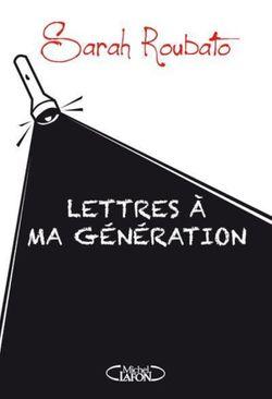 Couverture de Lettres à ma génération