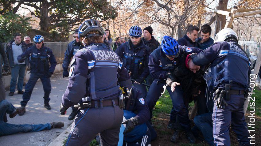 Vid o nouvelle altercation marseille entre policiers - Grilles indiciaires police municipale ...