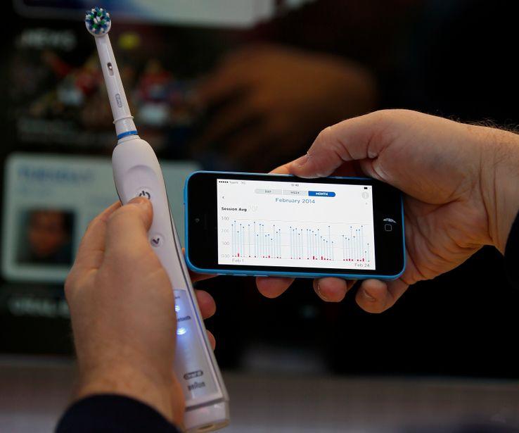 Une brosse à dents connectée à votre smartphone