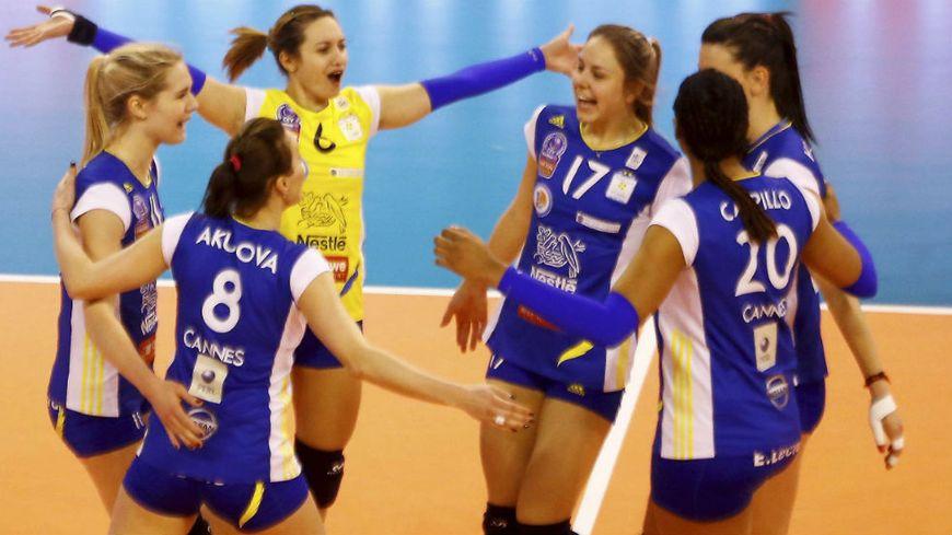Volley ball le racing club de cannes remporte sa 19e coupe de france - Volley ball coupe de france ...