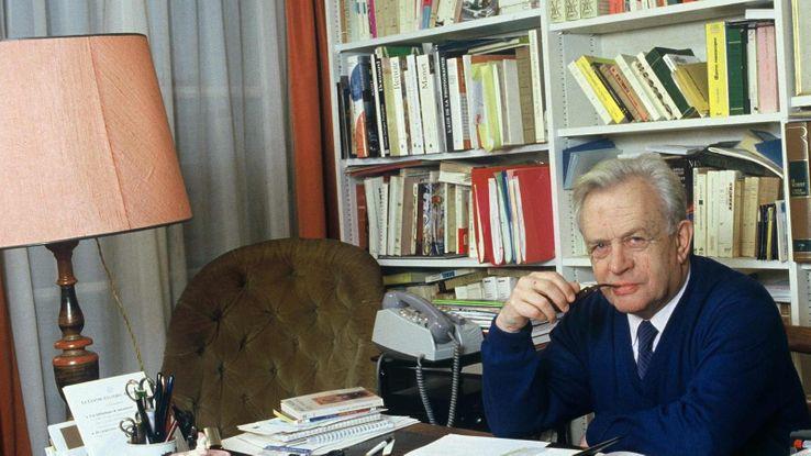 Pierre Dumayet en 1986.