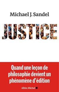 Couverture Justice Michael Sandel