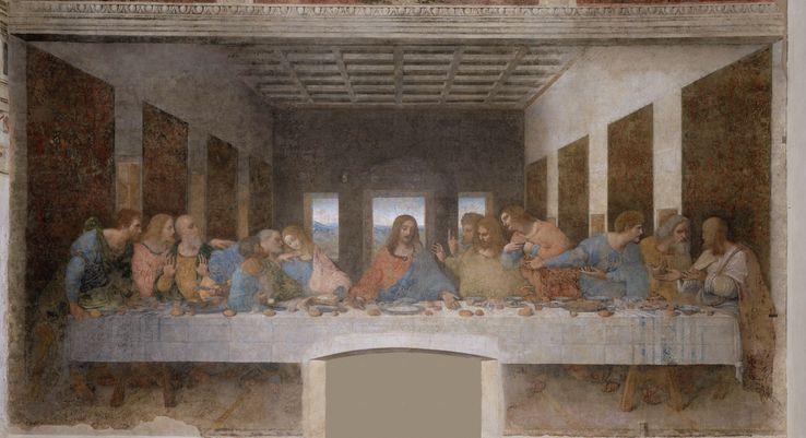 La Cène, peinture réalisée par Léonard de Vinci