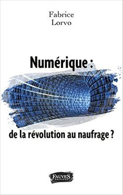 """Couverture du livre """"Numérique : de la révolution au naufrage ?"""" de F. Lorvo"""