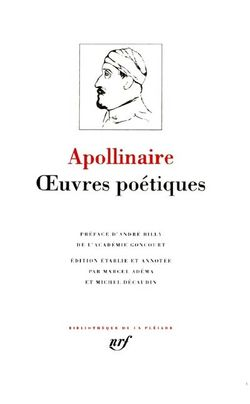 Oeuvres poétiques Apollinaire