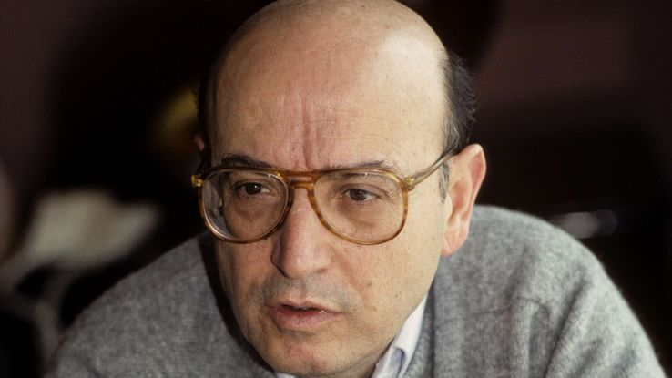 Theo Angelopoulos en 1989.