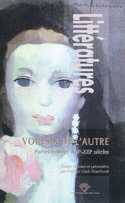 Voi(es)x de l'autre : poètes femmes, XIXe-XXIe siècles