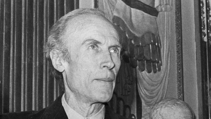 Eric Rohmer en 1977.