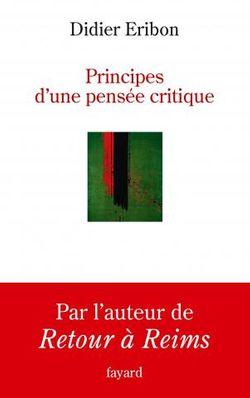 """Couverture """"Pratique d'une pensée critique"""""""