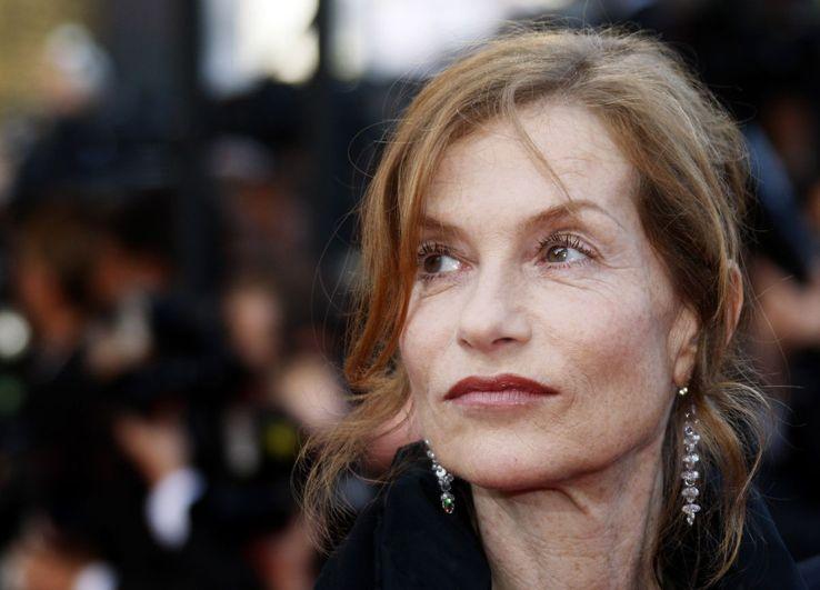 Isabelle Huppert en mai 2009 à Cannes.