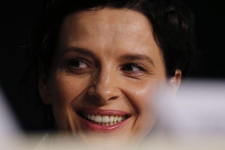 Juliette Binoche à Cannes en mai 2015