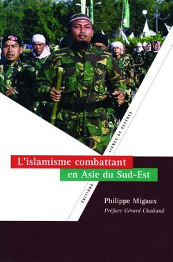 L'islamisme combattant en Asie du Sud-Est, P. Migaux (éditions IRASEC, 2007)