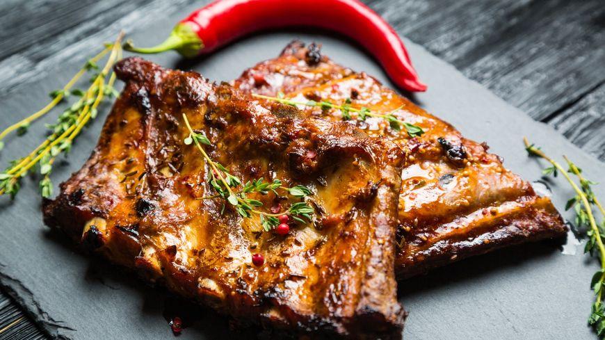 Les travers de porc caram lis s de jean luc timmel for On cuisine ensemble france bleu