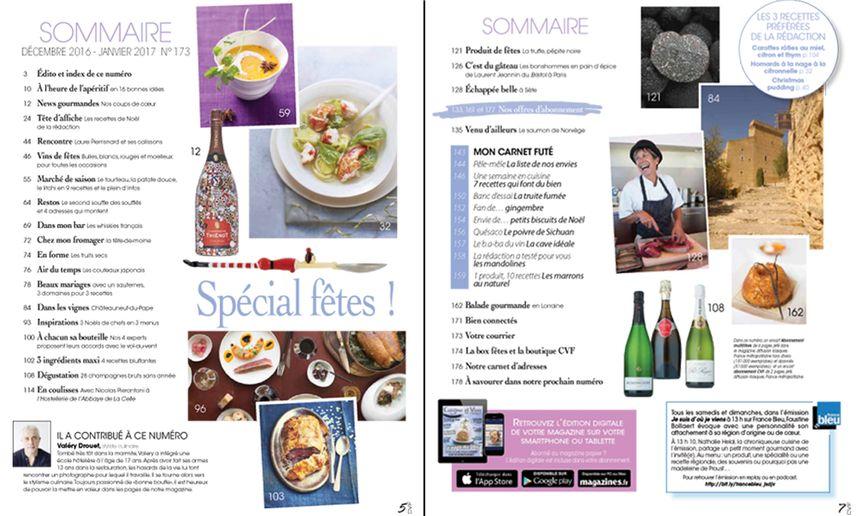 Cuisine et vins de france recettes recette cr pes for Abonnement cuisine et vins de france