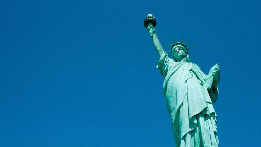 Il y a 130 ans l 39 inauguration de la statue de la libert for Createur statue de la liberte
