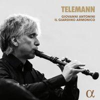 Concerto di camera en sol min TWV 43 : G3 : Allegro - pour flûte à bec 2 violons et basse continue