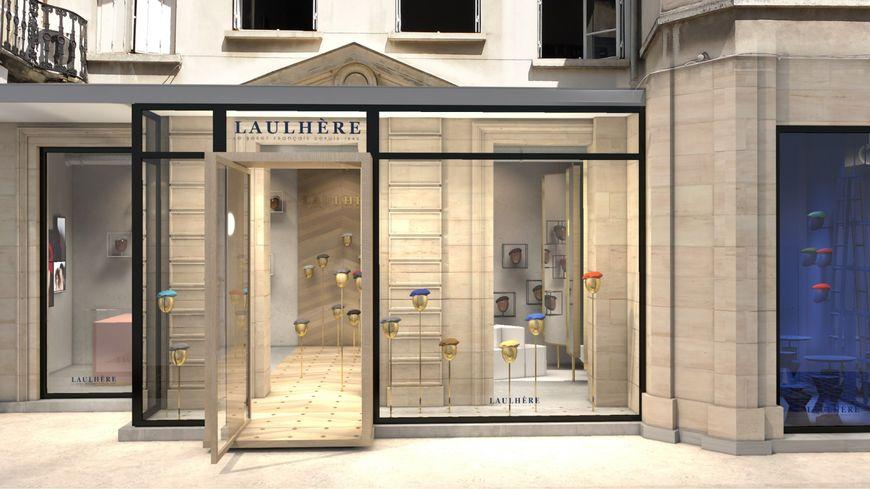 Les b rets laulh re ouvrent une boutique paris for Boutique loisirs creatifs paris