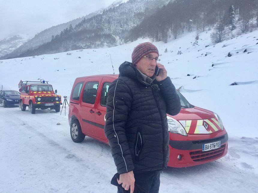 Le maire de Laruns Robert Casadebaig  - Radio France
