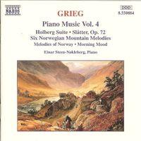 AU TEMPS DE HOLBERG OP 40 SUITE DANS LE STYLE ANCIEN POUR PIANO :LDEN STYLE, OP. 40 : IV