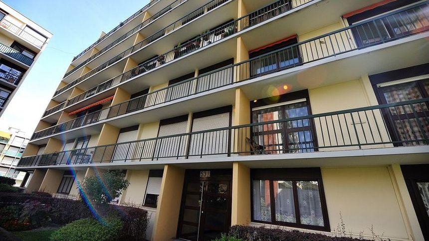 C'est au 4ème étage de cet immeuble de la rue de l'Oradou que s'est joué le drame - Maxppp