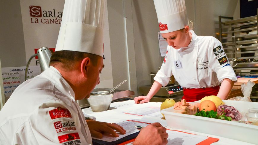 les huit finalistes du trophée jean rougié, concours de cuisine