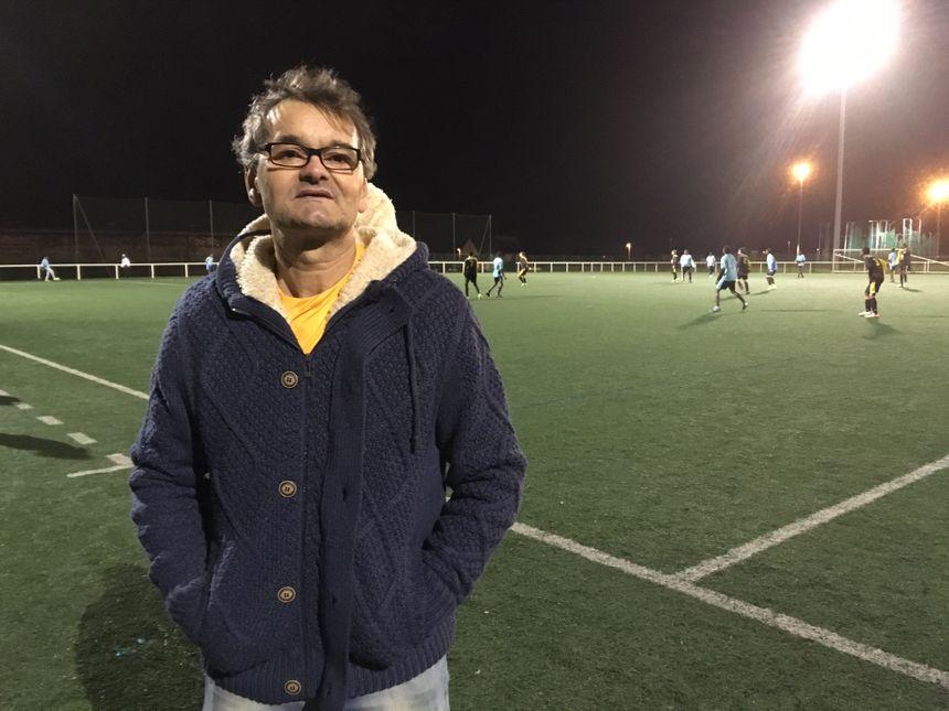 Sefik Crnic, ancien joueur des Francs-Archers - Radio France