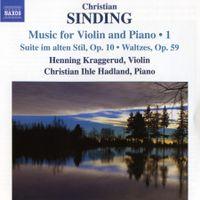 """Suite im alten Stil op 10 """"Suite dans un style ancien op 10"""" - pour violon et piano : 1 - Presto"""