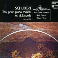 TRIO EN MI BEMOL MAJ OP 100 D 929 POUR PIANO VIOLON ET VIOLONCELLE : II. ANDANTE CON MOTO