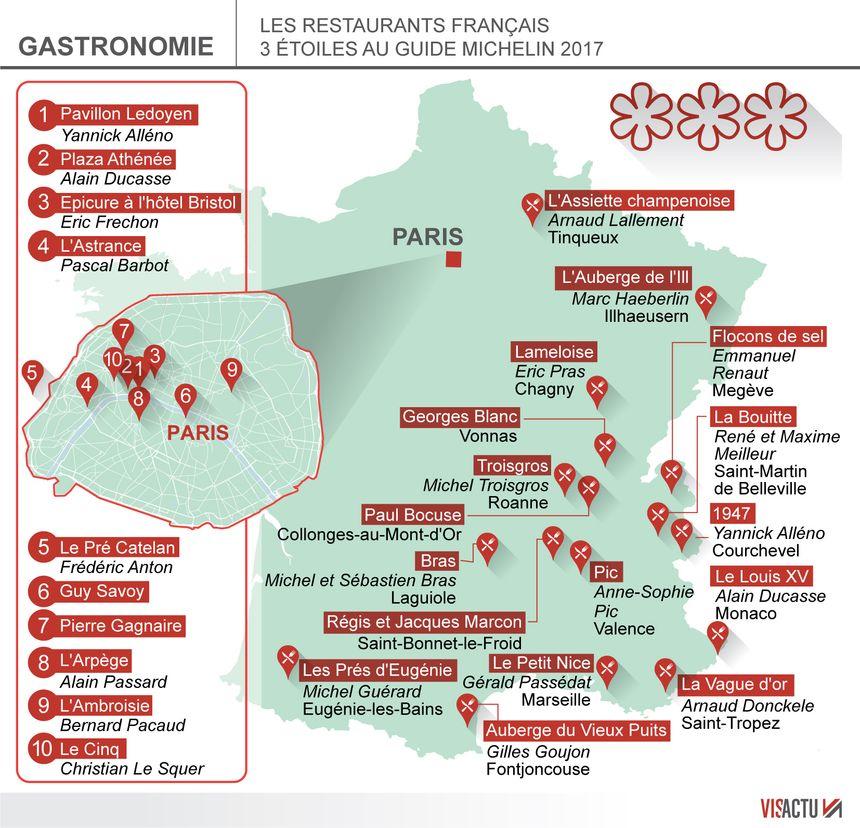 El conde fr les grands chefs toil s du guide michelin for Restaurant cuisine du monde paris