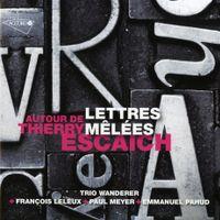Lettres melees pour violon violoncelle et piano : Brahms modere