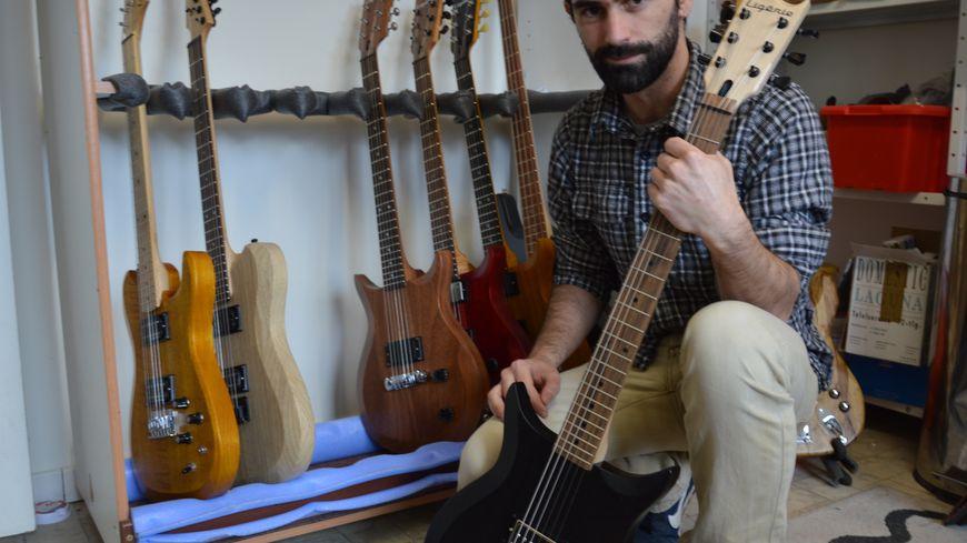 Fabriquée dans le Loiret, la guitare Ligérie sort du bois