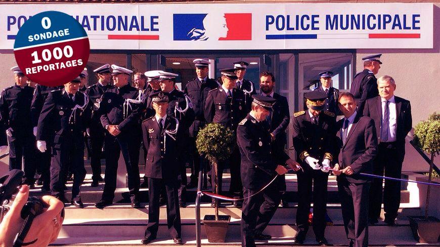 11 policiers nationaux et 18 policiers nationaux travaillent dans ce commissariat de Lattes.