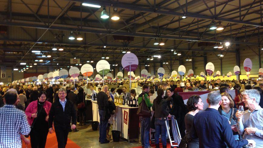 Consommateurs et producteurs se retrouvent au salon des for Salon du vin toulouse 2017
