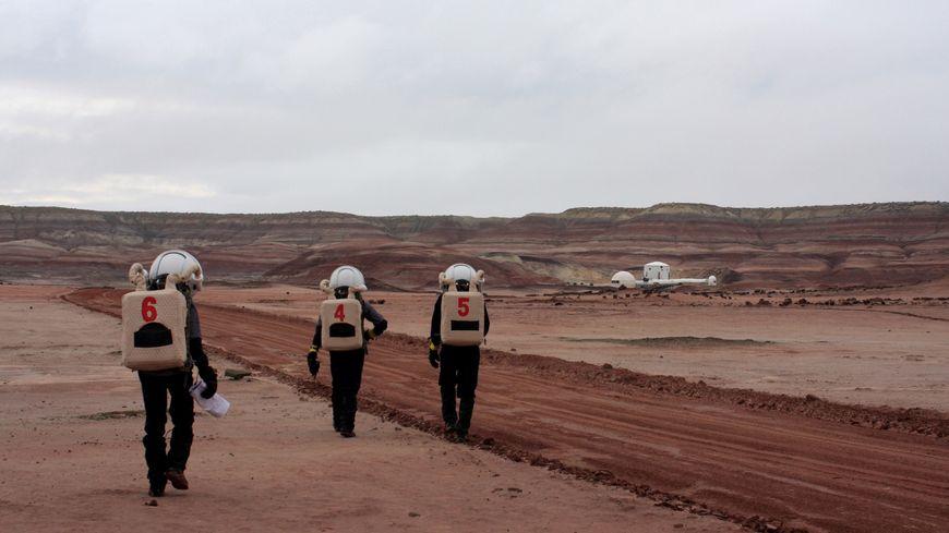 """Un étudiant de Chateauneuf-sur-Loire en """"mission"""" sur Mars - France Bleu"""