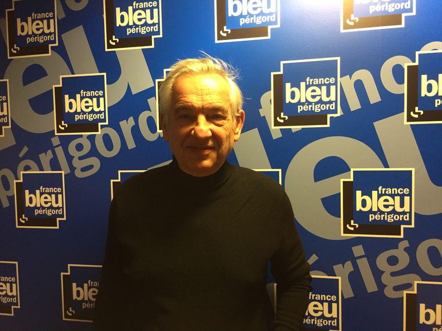 Le maire de Sarlat dans les studios de France Bleu Périgord - Radio France