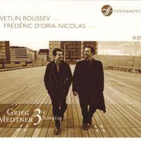Sonate n°3 en mi min op 57 - pour violon et piano : 2 - Scherzo - Allegro molto vivace e leggiero