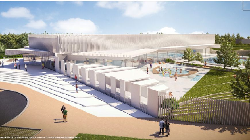Et voici le futur centre aquatique du grand dax for Piscine reims