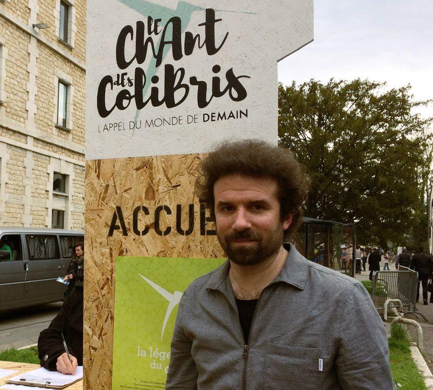 Cyril Dion est le co-fondateur du mouvement Colibris, en tournée à Bordeaux ce samedi - Radio France