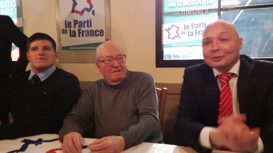 Jean-Marie Le Pen à Rivery aux côtés du Parti de la France