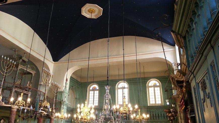 La Synagogue De Carpentras A Retrouv Son Plafond Toil